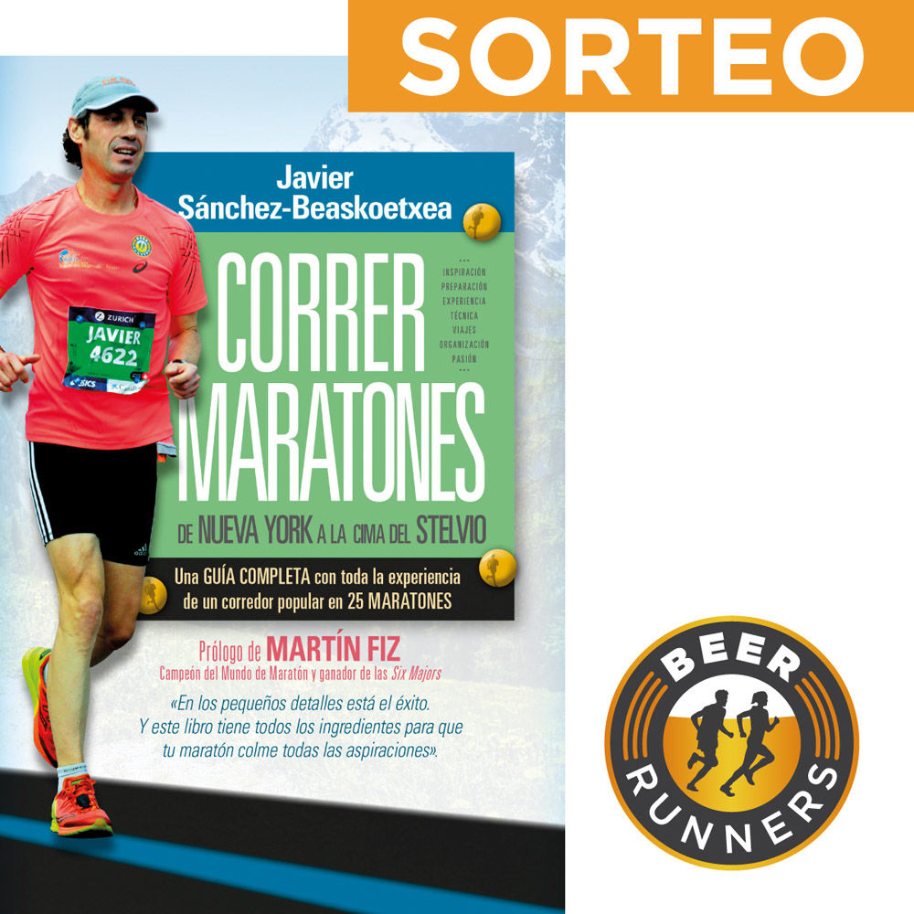 """""""Correr maratones"""", un libro muy Beer Runners"""