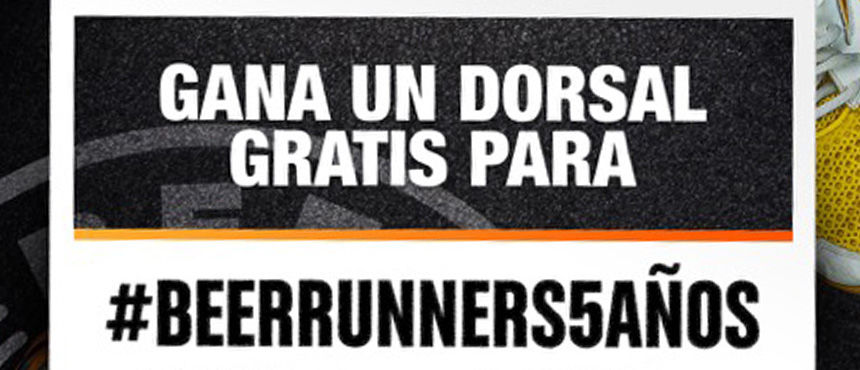Vamos a celebrar el V aniversario de Beer Runners… ¡A lo grande!