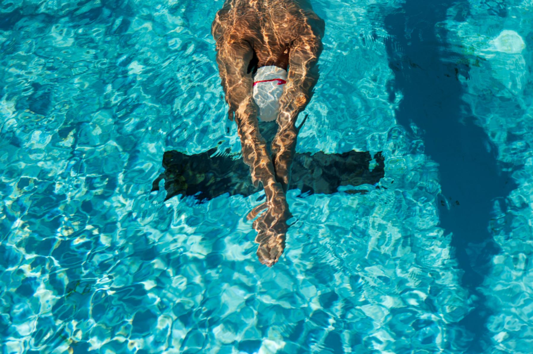 Entrena la carrera a pie en el agua