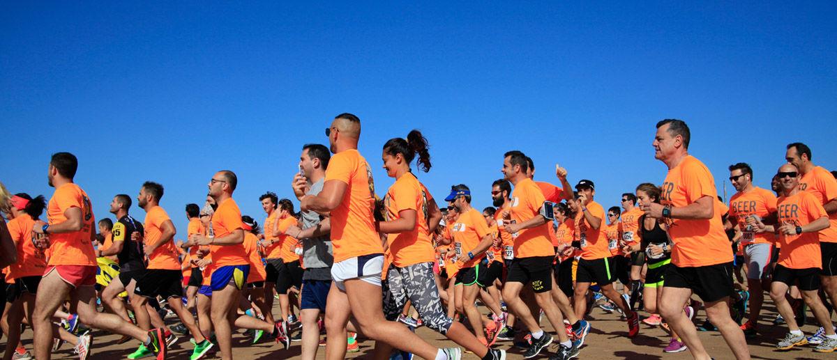 Beer Runners Cádiz: sol, playa, running, cerveza… ¡fiesta!