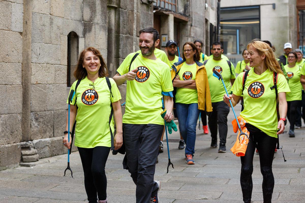 Beer Walkers Santiago de Compostela: ¡caminar, reciclar y disfrutar!