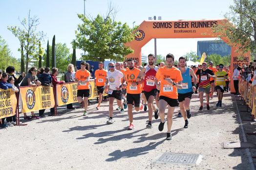 Zaragoza acoge la primera Beer Runners de 2019